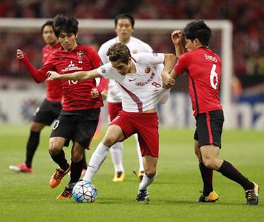 上海上港1:2浦和红钻止步半决赛