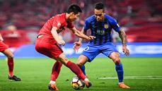 上港2-0苏宁易购结束4轮不胜