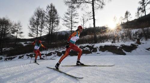 越野滑雪——耐力的鏖战