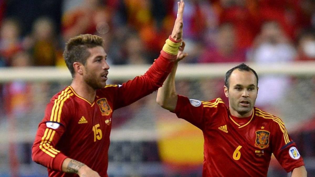 越老越妖!小白拉莫斯成四届世界杯元老 西班牙老将期待绽放
