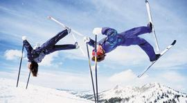 自由式滑雪——雪原杂技