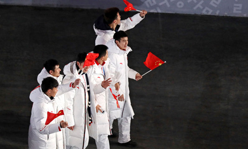 平昌冬奥闭幕式如期而至 运动员集体登场亮相